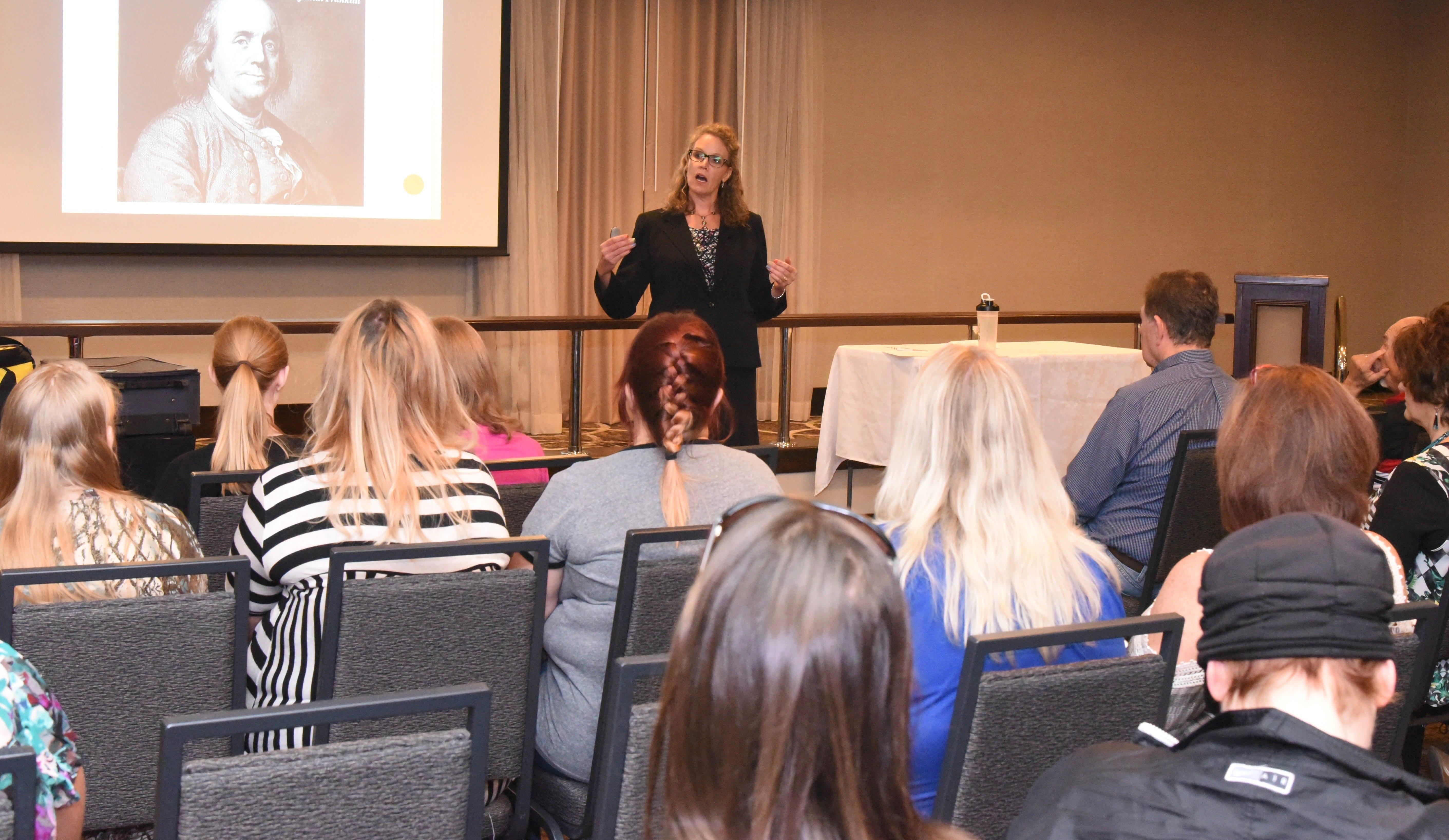 Deanna Becket Inspirational Speaker | Habits develop Character